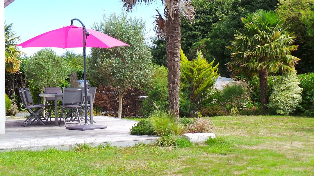 Location avec Jardin Fouesnant