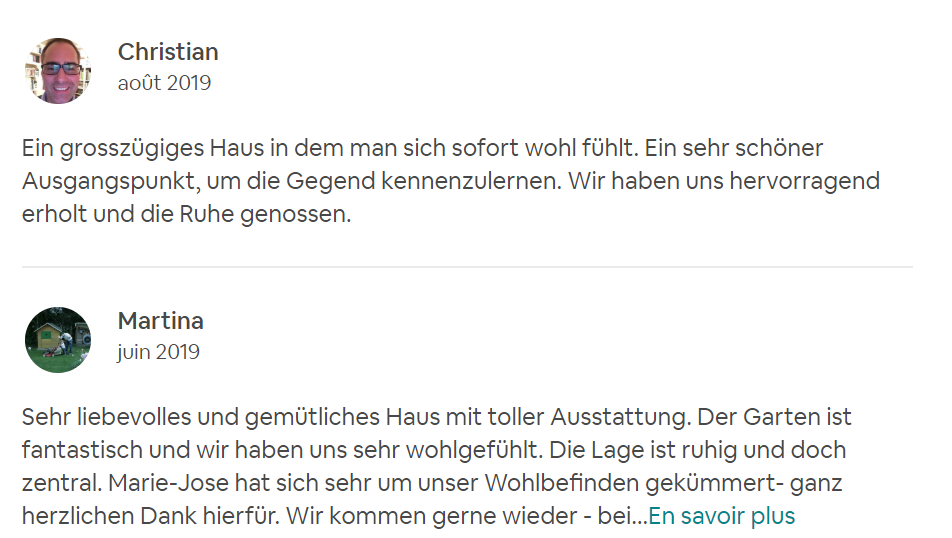 Recommandation Airbnb